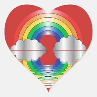 Etiquetas da reflexão LGBT do arco-íris e das