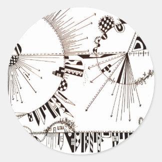 Etiquetas da terapia da arte da mente de SieCel