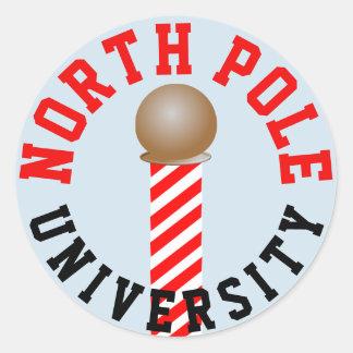 Etiquetas da universidade do Pólo Norte