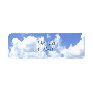 Etiquetas das nuvens