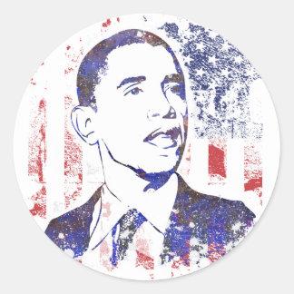 Etiquetas de Barack Obama Adesivos