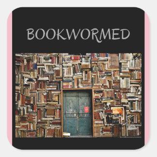 """Etiquetas de """"Bookwormed"""" para alguma ocasião"""