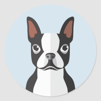 Etiquetas de Boston Terrier