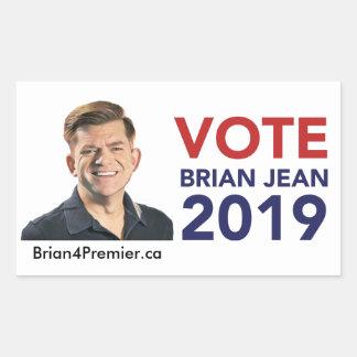 Etiquetas de Brian Jean do voto