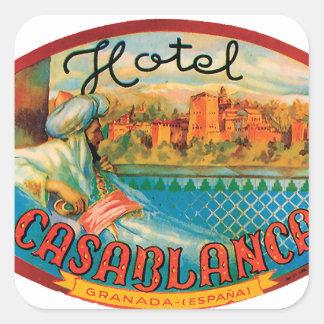 Etiquetas de Casablanca