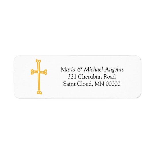 Etiquetas de casamento ornamentado do endereço do etiqueta endereço de retorno