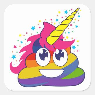Etiquetas de Emoji do arco-íris do tombadilho do