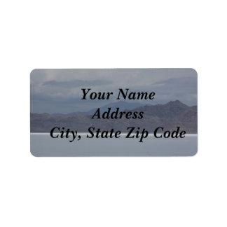 Etiquetas de endereço da montanha