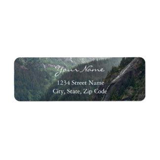 Etiquetas de endereço de Mountainscape