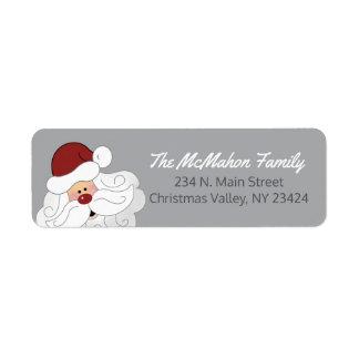 Etiquetas de endereço de Papai Noel