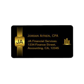 Etiquetas de endereço do contador de CPA das Etiqueta De Endereço