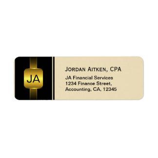 Etiquetas de endereço do contador de CPA das Etiqueta Endereço De Retorno