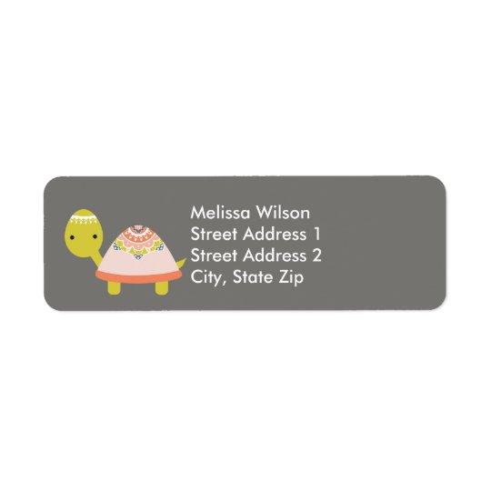Etiquetas de endereço do remetente bonito da etiqueta endereço de retorno
