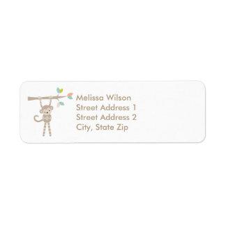 Etiquetas de endereço do remetente bonitos do