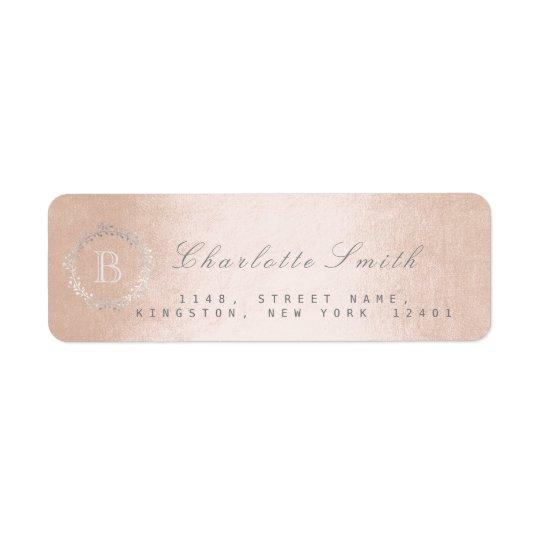 Etiquetas de endereço do remetente do campo do etiqueta endereço de retorno