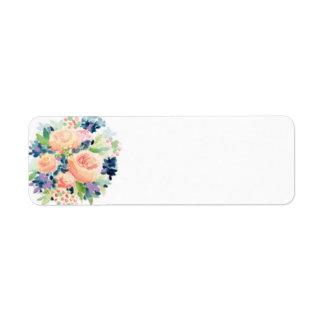 Etiquetas de endereço do remetente do design etiqueta endereço de retorno
