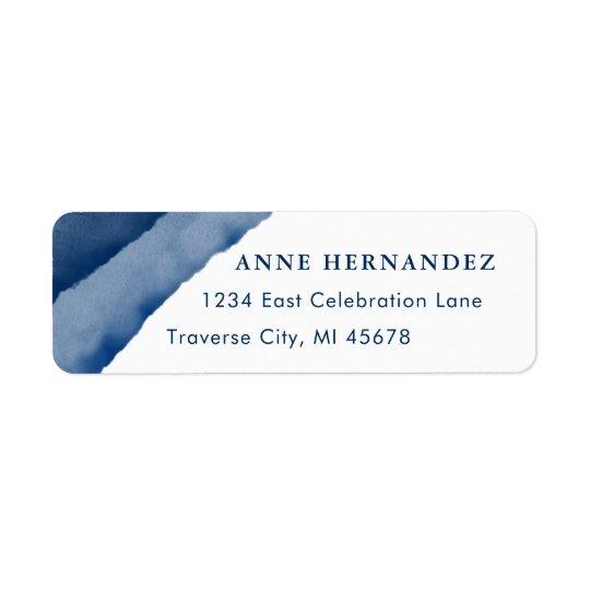 Etiquetas de endereço do remetente modernas da etiqueta endereço de retorno
