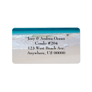 Etiquetas de endereço feitas sob encomenda da