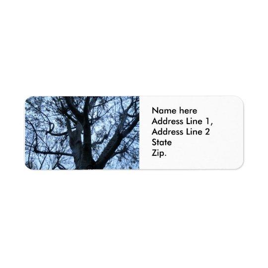 Etiquetas de endereço feitas sob encomenda da etiqueta endereço de retorno