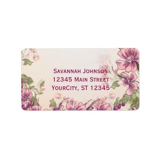 Etiquetas de endereço feitas sob encomenda do