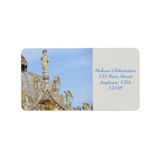 Etiquetas de endereço--Os anjos de St Mark