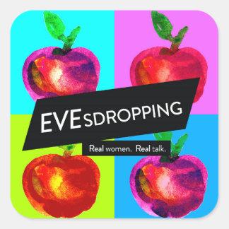 Etiquetas de Evesdropping (3 polegadas)