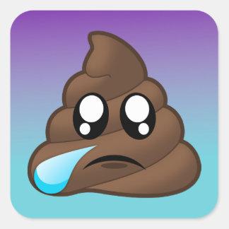 Etiquetas de grito de Emoji Ombre do tombadilho