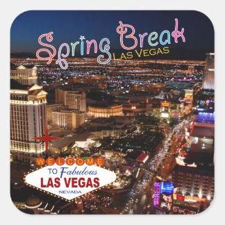 Etiquetas de Las Vegas das férias da primavera