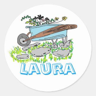 Etiquetas de Laura Adesivo