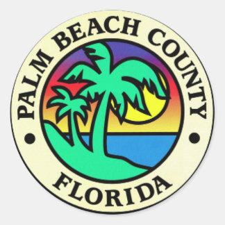 Etiquetas de Palm Beach County Florida Adesivo