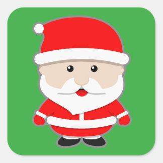 Etiquetas de Papai Noel do Natal dos desenhos