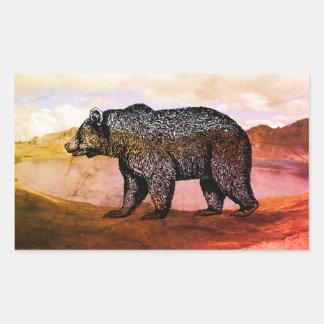 Etiquetas de passeio do urso de urso