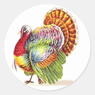 Etiquetas de Turquia da acção de graças -