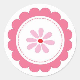"""Etiquetas decorativas da flor da """"herança"""" de adesivo"""