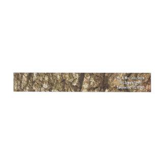 Etiquetas Design Textured do latido de árvore II abstrato