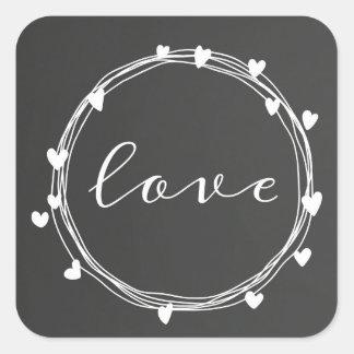 Etiquetas do amor do dia dos namorados