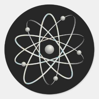 Etiquetas do átomo (007) -