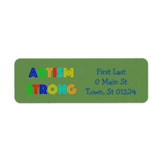 Etiquetas do autismo