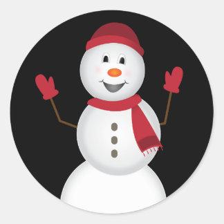 Etiquetas do boneco de neve