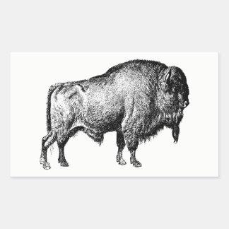 Etiquetas do búfalo