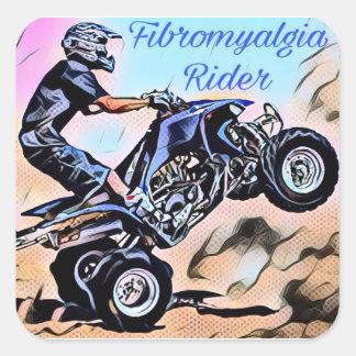 Etiquetas do cavaleiro da fibromialgia