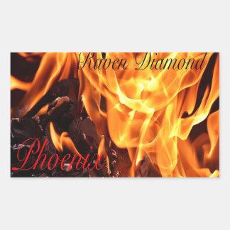 Etiquetas do cobrir do álbum de Phoenix