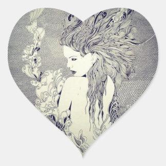 Etiquetas do coração