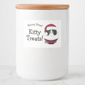 Etiquetas do costume do feriado do gato do gatinho