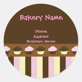 Etiquetas do cupcake adesivo