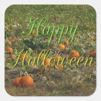 Etiquetas do Dia das Bruxas do outono da queda do