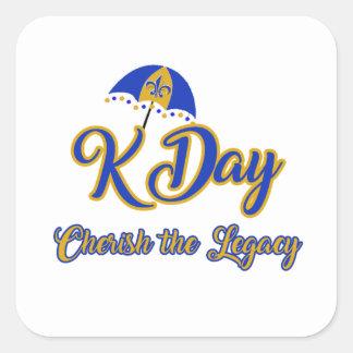 Etiquetas do dia de K
