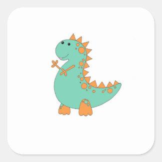 Etiquetas do dinossauro