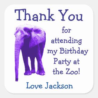 Etiquetas do favor de festa de aniversário do