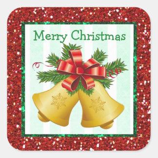 Etiquetas do feriado de Bels do Feliz Natal